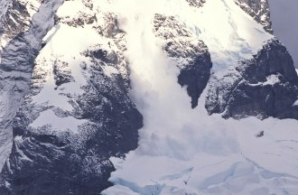 Avalanche at Danko Station