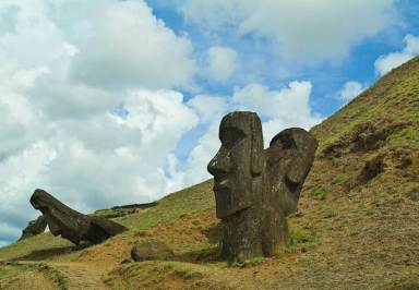 Rano Raraku Quarry - Rapa Nui National Park