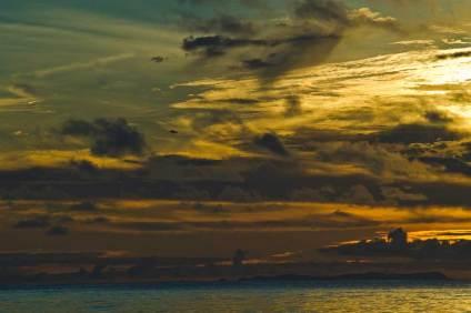 Sundown in the Galapagos
