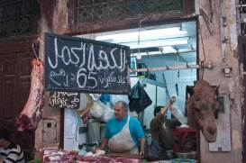 Camel anyone?, the Souq, Fes