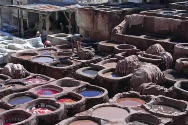 The Dye Pits, Fes