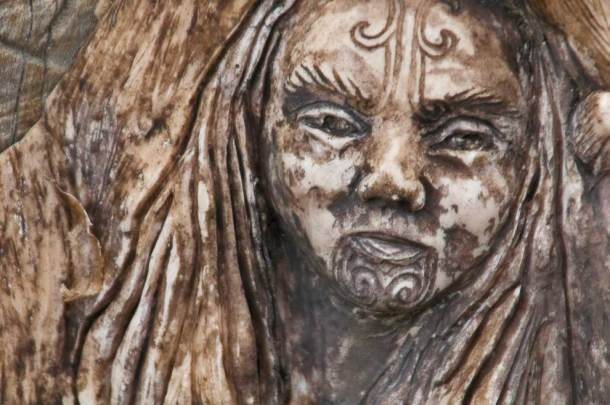 Maori carving, Abel Tasman
