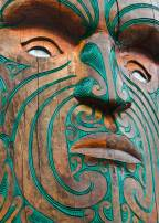 Maori carving , Omaham Beach