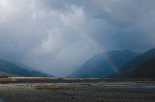 Rainbow in Arthur's Pass