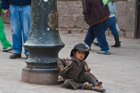 Street Children, Cusco