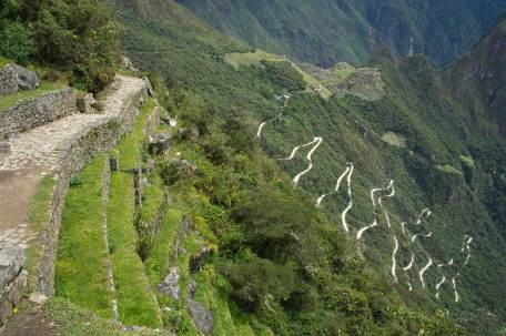MP to Aguas Calientes - downhill