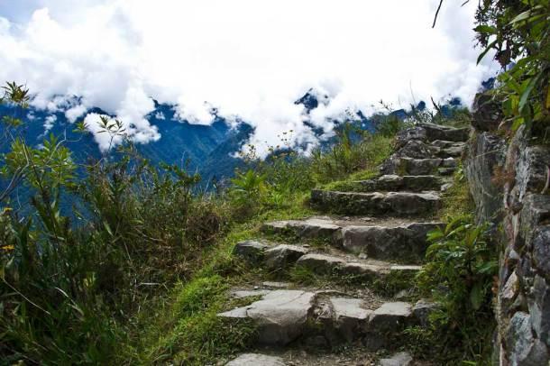Inca trail to the Sun Gate - Machu Picchu