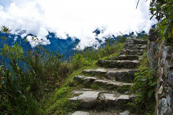 Inca trail to the Sun Gate - Machu Picchu