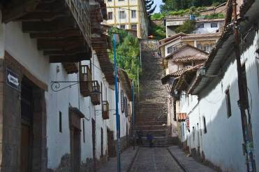Cusco Street - Uphill