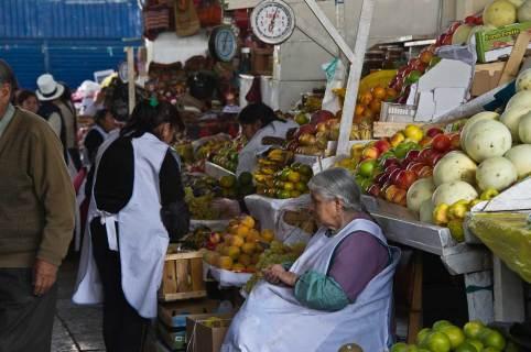 Market Day, Cusco