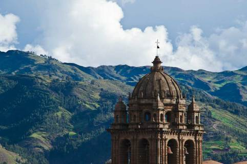 """I lift my eyes unto the hills"", Cusco"