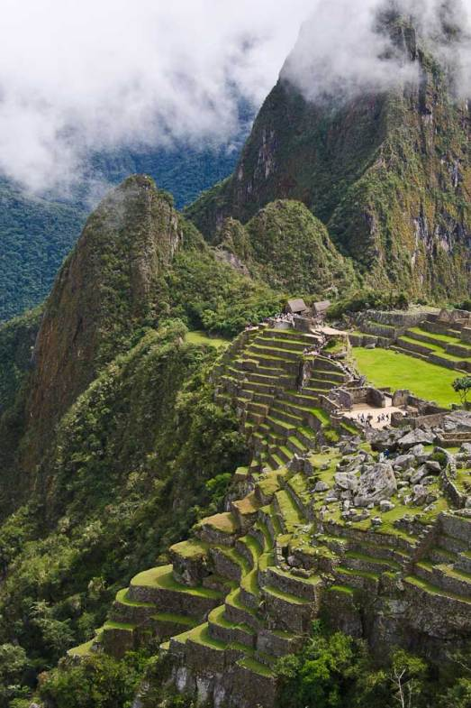 The Terraces of Machu Picchu