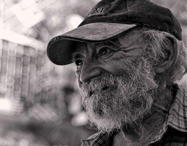 Kind man in Trinidad