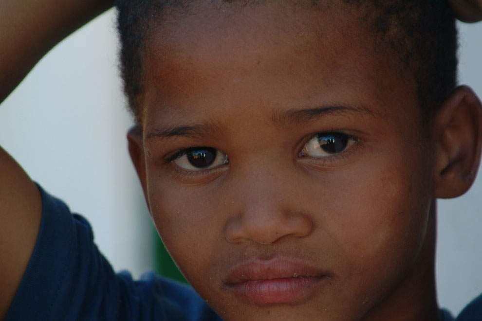 A child of South Africa