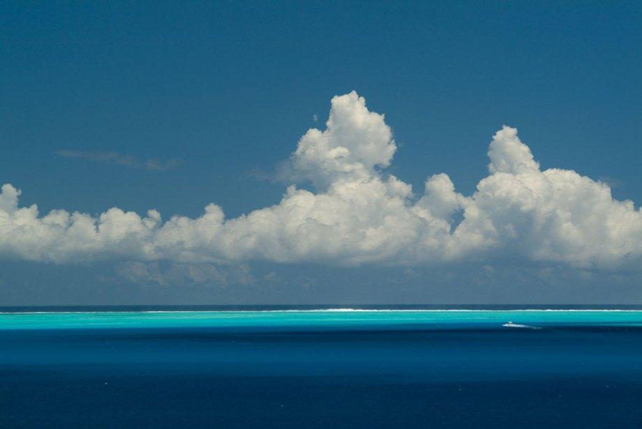 The colours of Bora Bora