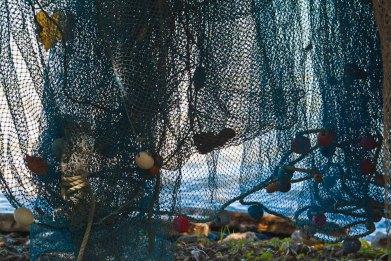 Fish nets, Moorea