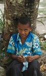 Ready for church, Dravuni, Fiji