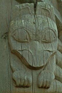 From Bill Reid Totem, Skidegate