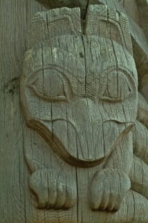 From Bill Reid Totem, Skidegate