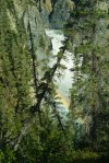 Rainbow at Virginia Falls, Nahanni River