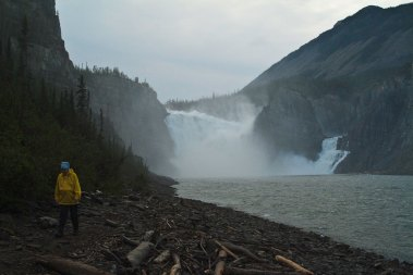 In history's steps, Nahanni River