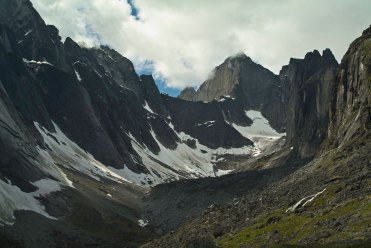 Towards the Cirque of the Unclimables, Mackenzie Mountains