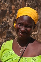 The smile, Gorie Island