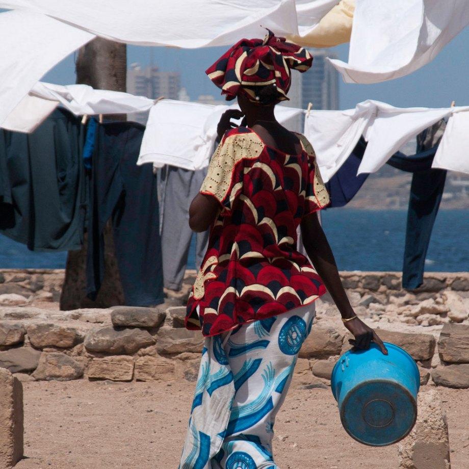 Woman's work, Gorie Island