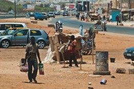 A street in Dakar