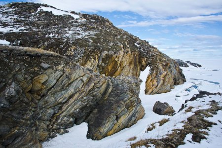 A Rock in a Hard Place - Bylot Island