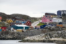 Approaching Nuuk, Capital