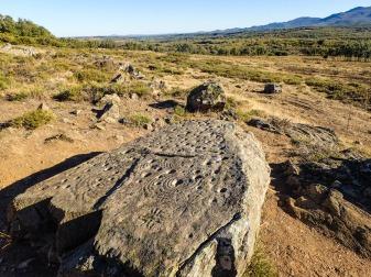 Petroglyphs at Teleno