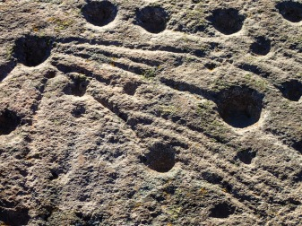 Petroglyphs at Teleno II