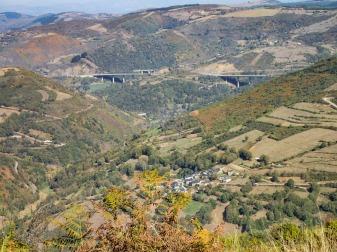 Elevated bridges at Herrerias
