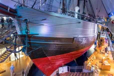 Nansen's ship the Fram at the Fram Museum