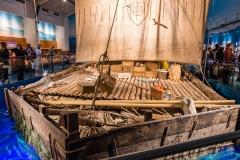 The Kon Tiki at the Kon Tiki Museum