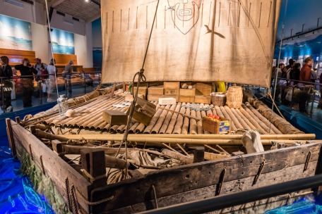 The Kon Tiki at the Kon Tiki Museum