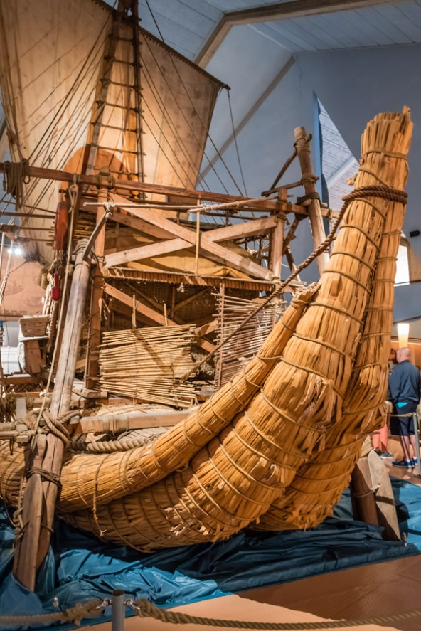 The Ra at the Kon Tiki Museum