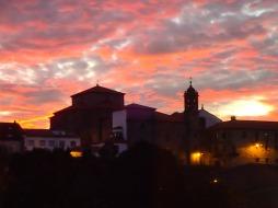 Sunset in Santiago