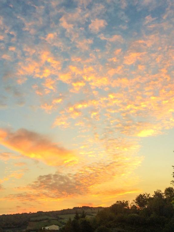 Sunrise at Fonfria