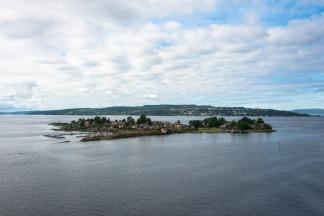 Approaching Oslo by Sea
